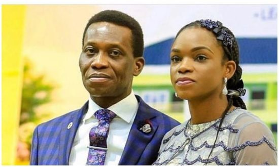 Pastor Dare Adeboye's Wife finally reacts to Husband's Death